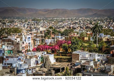 Panorama of Udaipur