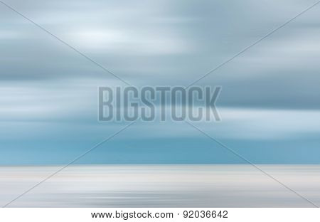 Blurred Sea Background