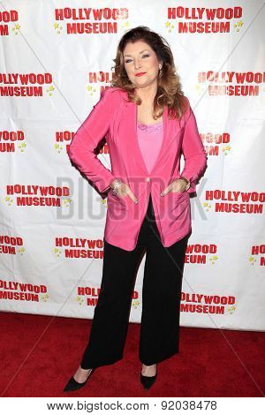 LOS ANGELES - MAY 27: Morgan Brittany at the Marilyn Monroe Missing Moments preview at the Hollywood Museum on May 27, 2015 in Los Angeles, California