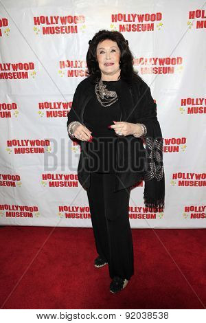 LOS ANGELES - MAY 27: Barbara Van Orden at the Marilyn Monroe Missing Moments preview at the Hollywood Museum on May 27, 2015 in Los Angeles, California
