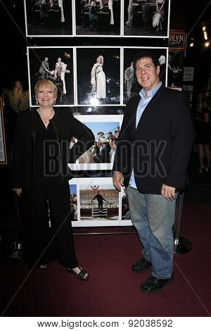 LOS ANGELES - MAY 27: Alison Arngrim, Steven Wishnoff at the Marilyn Monroe Missing Moments preview at the Hollywood Museum on May 27, 2015 in Los Angeles, California