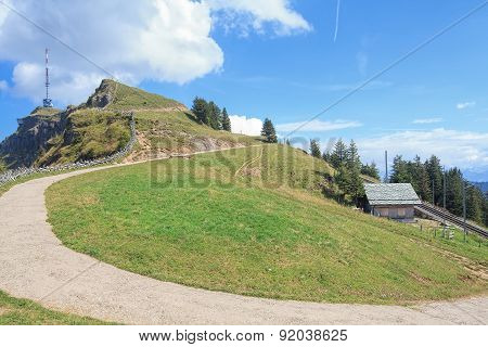 View On The Mt Rigi