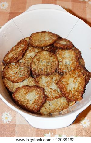 Heap Of Fresh Tasty Potato Pancakes