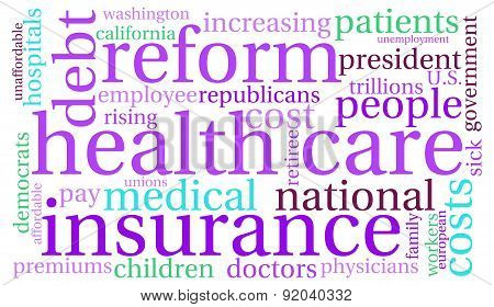 Health Care Reform Word Cloud