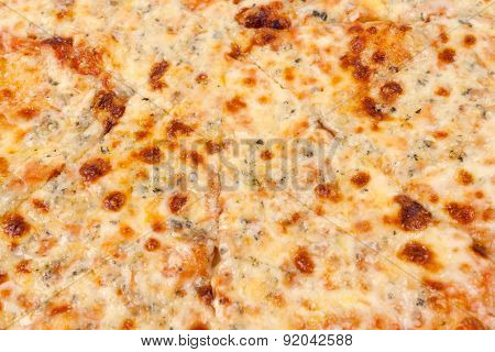 Cheese pizza background