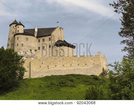 Bobolice Knight's Castle In Jura Cracow Czestochowa