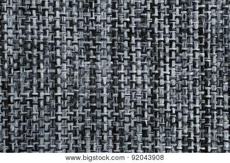 Elegant gray cotton fabric texture background