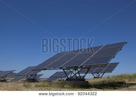 Solar Photovoltaics Panels Field