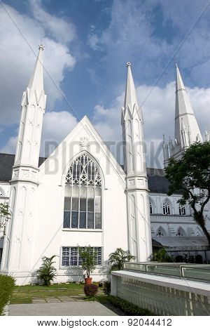Singapore Landmark: St Andrews Cathedral