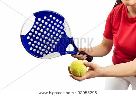Paddle Tennis Service