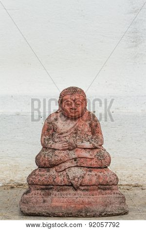 the ancient monk statue for katyayana