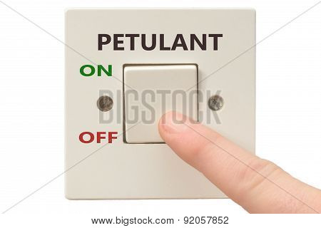 Anger Management, Switch Off Petulant