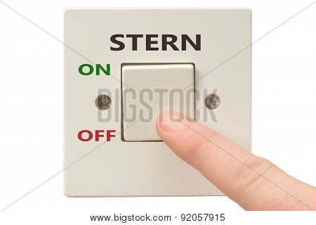 Anger Management, Switch Off Stern