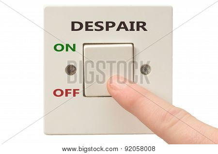 Dealing With Despair, Turn It Off