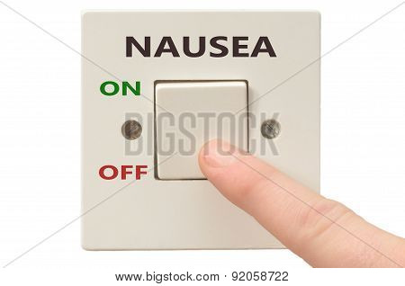 Dealing With Nausea, Turn It Off