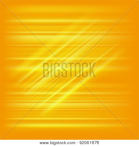 Digitally generated image of yellow light and stripes template