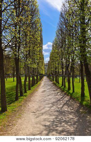 Park in Museum-Estate Arkhangelskoye near Moscow - Russia