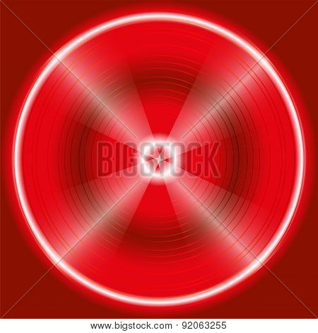 Abstract circular red Background Design template