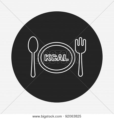 Tableware Line Icon