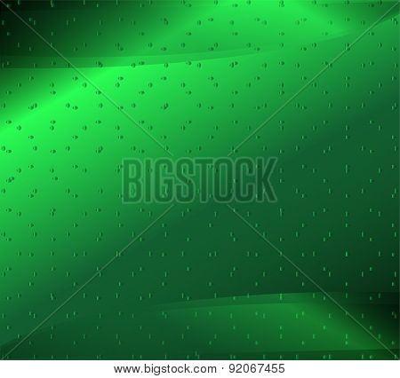 Abstract creative green background template