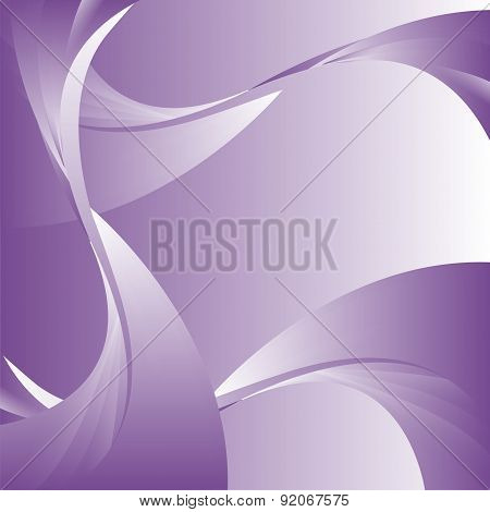 Abstract curve purple background template