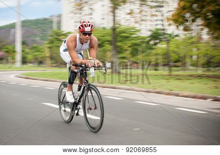 Cycling athlete