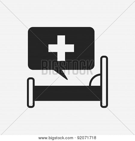Hospital Beds Icon