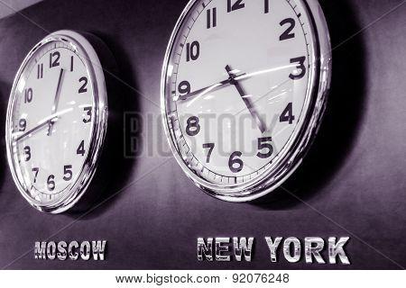 Clocks - Time Zone