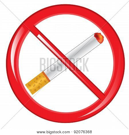 No smoking symbol.