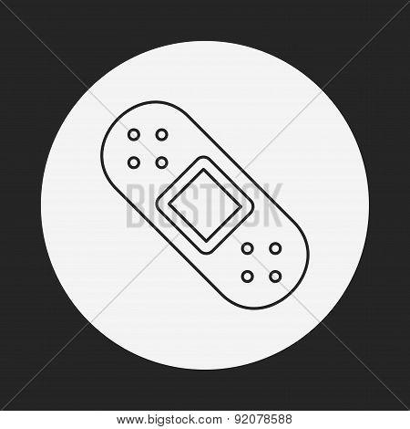 Bandage Line Icon