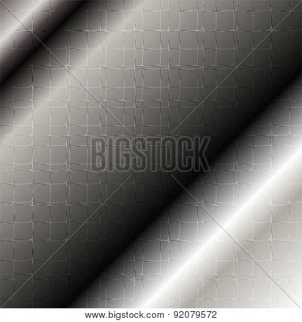Metallic pattern design abstract