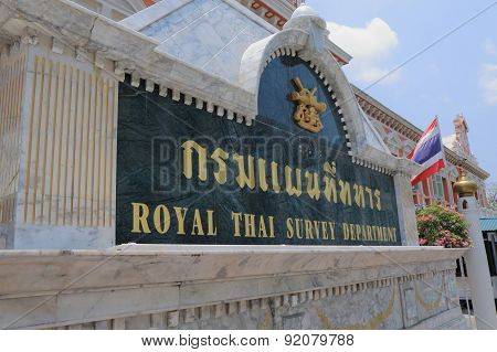 Royal Thai Survey Department Thailand