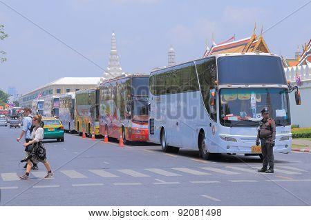 Tour sightseeing bus Bangkok Thailand