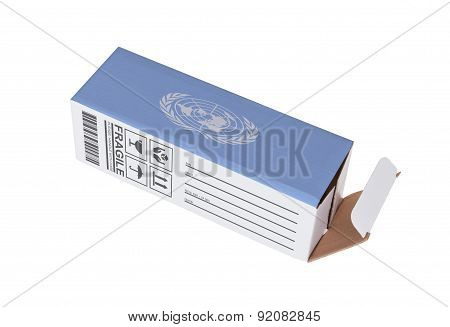 Concept Of Export - Product Of The United Nations