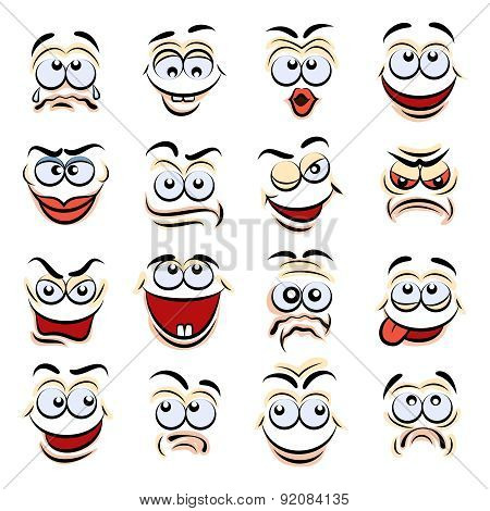 Cartoon emotions