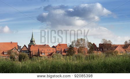 Boizenburg  Elbe, Mecklenburg, North Germany