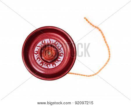 Playing Red Yo-yo