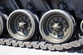 stock photo of tank truck  - Tank close - JPG
