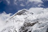 stock photo of chola  - the west ridge of mt - JPG