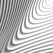 stock photo of distort  - Design monochrome whirl lines motion background - JPG