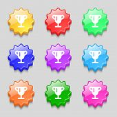 picture of winner  - Winner cup Awarding of winners Trophy icon sign - JPG