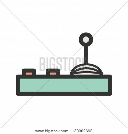 Game, control, play icon vector image.Can also be used for games entertainment. Suitable for mobile apps, web apps and print media.