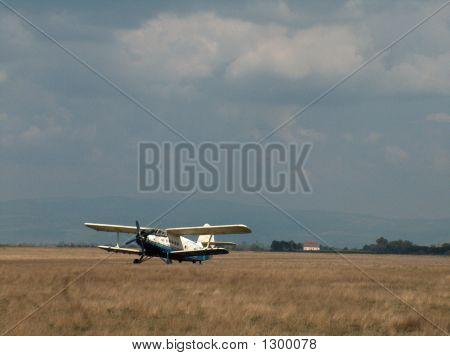 Plain In The Field