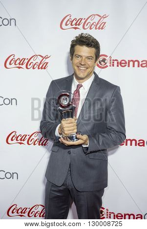 LAS VEGAS - APRIL 14 : Producer Jason Blum recipient of the Producer of the Year Award attends the CinemaCon Big Screen Achievement Awards at The Caesars Palace on April 14 2016 in Las Vegas