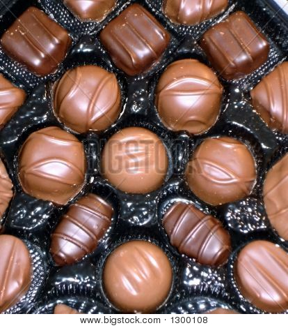 Dark And Light Chocolates