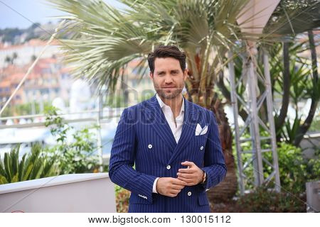 Edgar Ramirez attends the 'Hands Of Stone' Photocall during the 69th annual Cannes Film Festival on May 16, 2016 in Cannes, France.