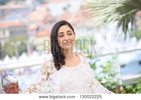 Golshifteh Farahani attends the 'Paterson' photocall during the 69th annual Cannes Film Festival at the Palais des Festivals on May 16, 2016 in Cannes, France.