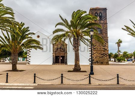 Church of Our Lady of La Candelaria - La Oliva Fuerteventura Canary Islands Spain