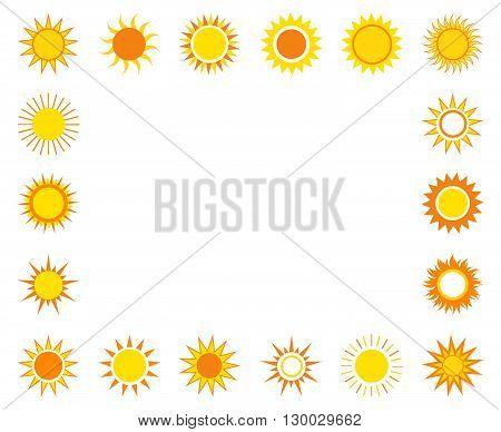Suns On The Sky Frame