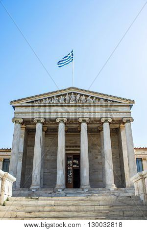 academy of Athens in Athens in Greece